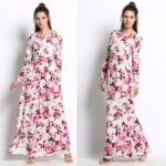 Model Long Dress Lengan Panjang 7
