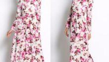 Model Long Dress Lengan Panjang 7